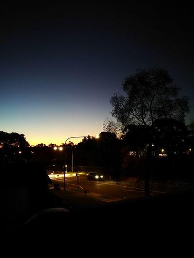 Evening Glow.