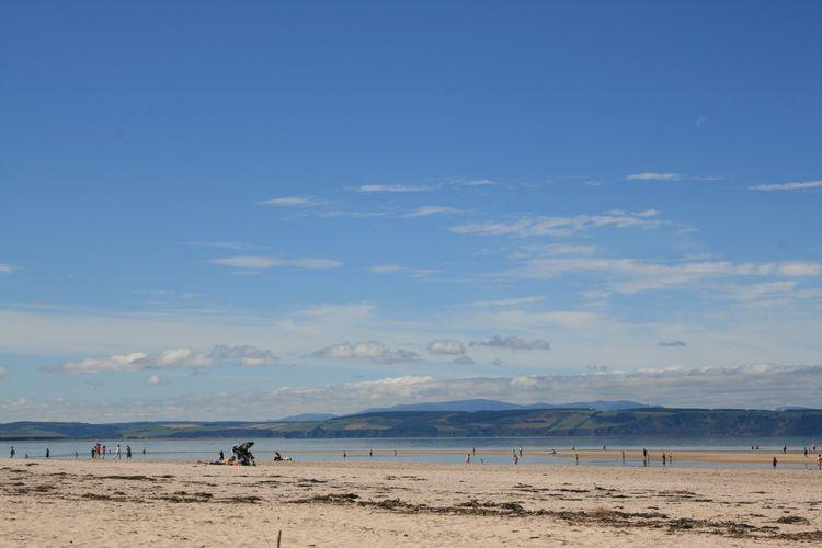 Summertime! Holiday Scotland Nairn Paradise Beach Beachphotography Blue Uk Summer Beach Coast