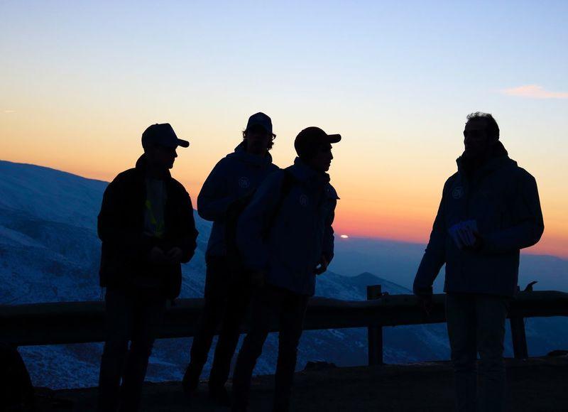Sunset in Sierra Nevada Silhouette Atardecer Photography Canon SPAIN Sunset Landscape