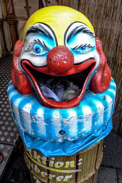 Bin Clown Scary