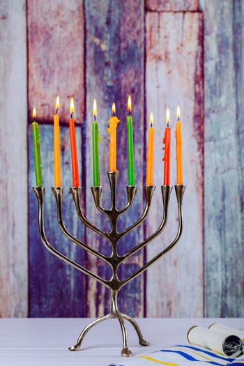 Hanukkah menorah with burning candles on wooden table front old vintage concrete wall Holiday concept. Candlestick Chanukah Candles Hanukkah Menorah Hanukkah Candles HanukkahDecor Jewish Menorahcandles Candlestick Holder Chanukah Hanukkah Hanukkah Dreidel Hanukkah, Holiday - Event Jewish Holiday Jewish Symbol Jewish Symbol Jewish Holiday Hanukkah With Menorah Traditional Candelabra Jewish Holiday, Holiday Symbol Judaism Kislev Menorah Synagogue