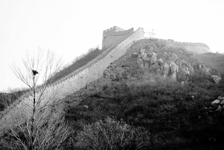 Visiting the Great Wall of China Great Wall Of China History Architecture Day No People Built Structure Outdoors Nature Building Exterior Clear Sky Sky