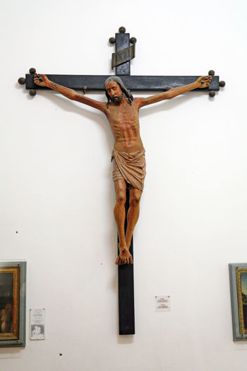 Art ArtWork Catholicism Christianity Craftmanship Crucifix Culture Day Dubrovnik, Croatia Eu Europe Friars Mnor History Jesus Christ Museum No People Religion Sculpture