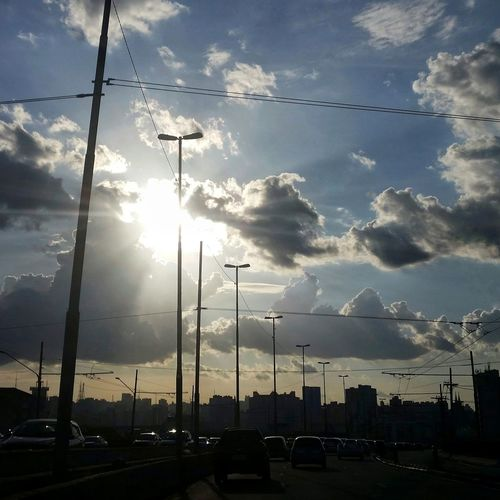 RadialLeste Sao Paulo - Brazil Saopaulocity Urbanphotography Sunset Silhouette