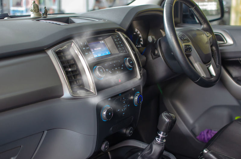 Car Car Interior Close-up Control Panel Dashboard Day Gearshift Glass - Material Indoors  Land Vehicle Luxury Mode Of Transportation Motor Vehicle No People Silver Colored Steering Wheel Transportation Vehicle Interior Wealth Windshield