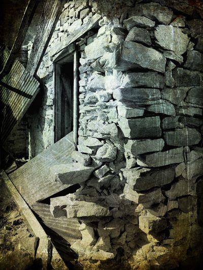 """Mystery Ranch No. 26"" Corner Stones. New Mexico Photography New Mexico Blackandwhite Photography Black & White Black And White Blackandwhite Corner Stone Abandoned House Abandoned Buildings Abandoned Places Abandoned Stone Buildings Stone No People Architecture Close-up"