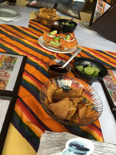 Tostadas Food Food And Drink Freshness Ready-to-eat Table Plate High Angle View Meal