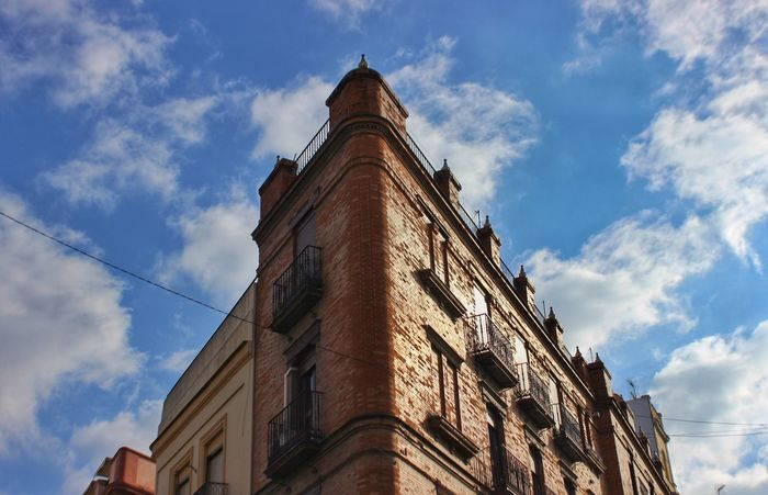 Low Angle View Sky Architecture Cloud - Sky Building Exterior History Built Structure The Graphic City
