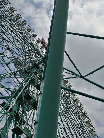 Sky Metal Low Angle View Cloud - Sky Day No People Outdoors Steel Close-up Mirabilandia🎡🎢🎠 Theme Park