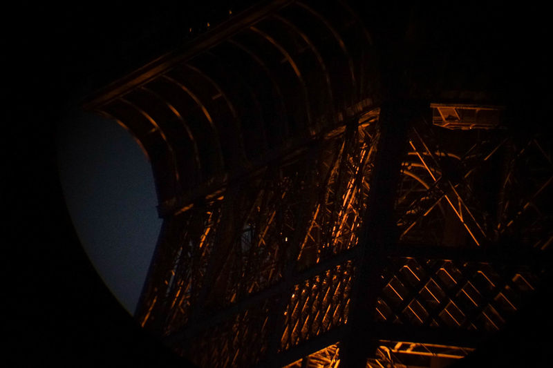 La Tour Eiffel ! Angle Architecture Blurred Motion By Night Close-up Design Detail Eiffel Tower Focus Fromanotherangle Hidden Gems  Illuminated Monument Parisian Zoom A Bird's Eye View