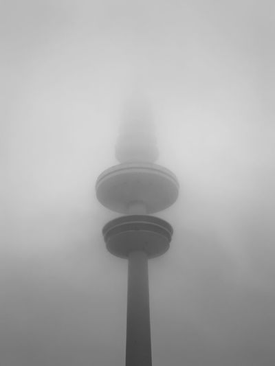 No People Low Angle View Fog Technology Architecture Built Structure Nature Tower Tall - High Sky