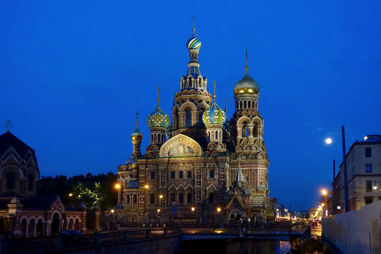 The church of the savior of the spilled blood at a white night in the morning at 2.30. Architecture Blue Built Structure City Dome Façade Famous Place Illuminated Morning 2.30am Night No People Outdoors Russia Sky St. Peterburg The Church Of The Savior Of The Spilled Blood Tourism Travel Destinations White Nights