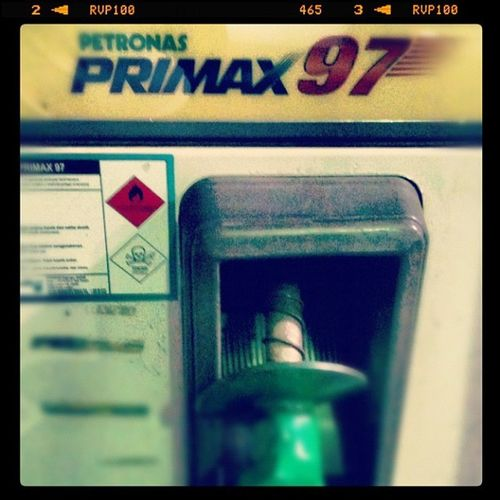 Minuman mahal hari nie... Petrol Ron97