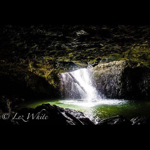 Australia Cave Waterfall Naturalbridge QLD Transfer_visions Tamron Nikon