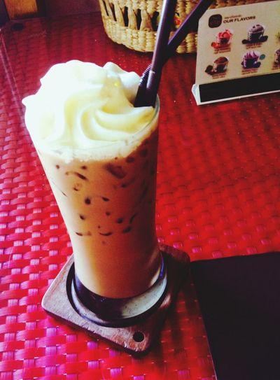 ;) Mocha Coffee ☕ Eating Happyhappyhappy