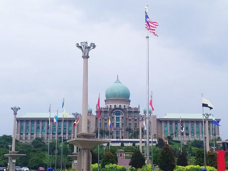 Perdana Putra (Prime Minister Office) Malaysia Truly Asia Putrajaya, Malaysia Perdanaputra DataranPutrajaya Architectureporn Architecture Building Buildings & Sky City Politics And Government Dome Urban Skyline Sky Architecture