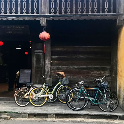 Hoi An Travel Photography Vietnam Architecture Bicycle City Lantern No People Transportation Travel Destinations