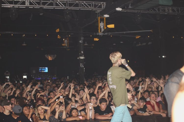 Lil Peep Large Group Of People Crowd Audience Music Suicideboys Suicideboy  Rap