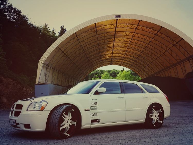 Car Day Dodge Dodge Magnum Germany Magnum Outdoors Steinbruch