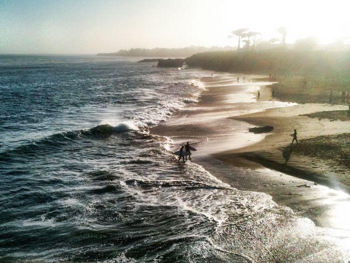 Surfing California Ocean Beach