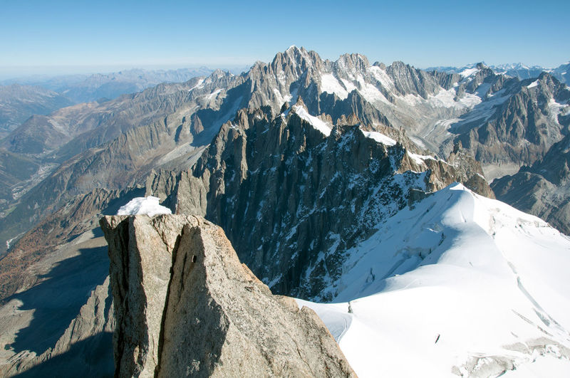 Infinite peaks Mountain Scenics - Nature Beauty In Nature Tranquil Scene Mountain Range Sky Cold Temperature Tranquility Environment Landscape Winter Nature Non-urban Scene Snow Idyllic Day No People Mountain Peak Rock Snowcapped Mountain Formation Peaks Alps Chamonix-Mont-Blanc