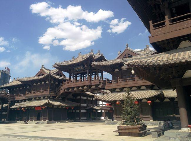 山西大同华严寺 SHANXI CHINA SHANXI DATONG Temple Chinese