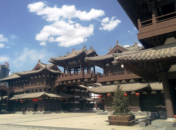 山西大同华严寺 SHANXI CHINA SHANXI DATONG Temple Chinese
