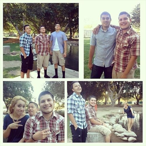 Had a good time yesterday at Emilio going away party goin to miss you Emilio good luck at the navy. LuvtoEmilio