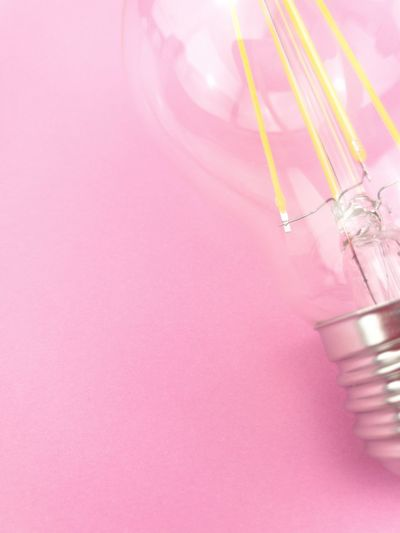 light bulb pink background Technology Is Future Technology Slanted Light Bulb Pink Color No People Indoors  Copy Space Decoration Lighting Equipment Celebration Close-up Low Angle View Studio Shot Colored Background Illuminated Backgrounds Still Life Single Object