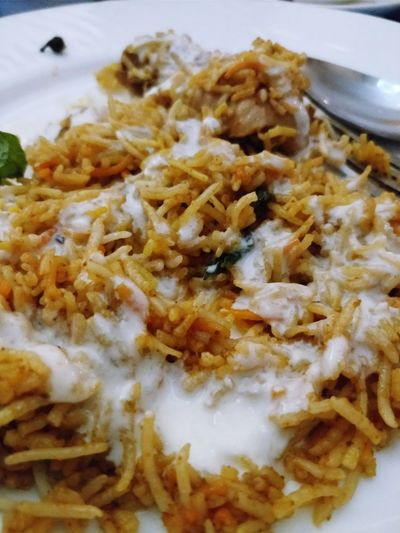 Biryani Riceandchicken Food Stories Food Food And Drink Serving Size Healthy Eating Ready-to-eat Indoors  Freshness