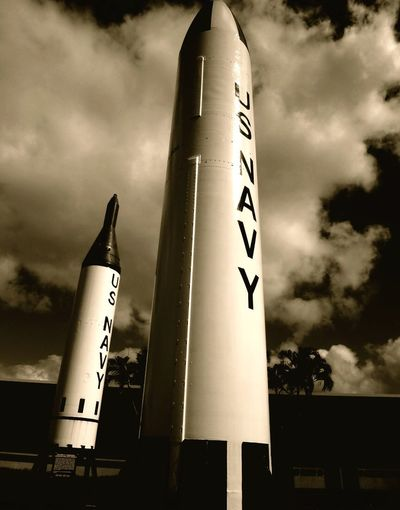 Pearl Harbor Memorial Sky Low Angle View Text Communication Cloud - Sky Outdoors No People Day Nature US Navy Rocket