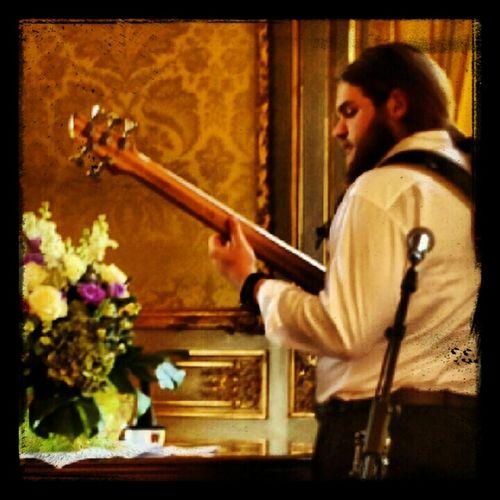 Gianluca Playing Bass