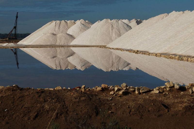 Salt mountain