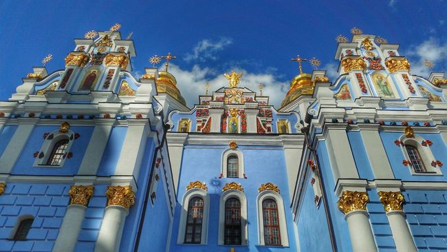 43 Golden Moments Kiev Ukraine Streetphotography Mobile Photography Street Photography Mobilephotography Monastery Church Orthodox Church Cathedral Kiev_ig Miles Away Neighborhood Map