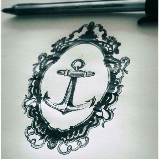 Tattoo Tattooart Anchor Tattoo Drawing