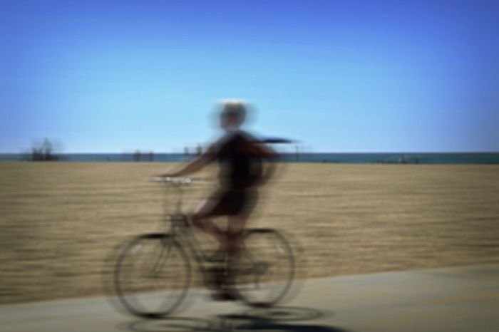 Photography In Motion venice beach Check This Out Taking Photos Bike Leisure Activity Hg