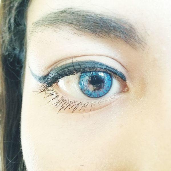 Real like that... Human Eye Close-up Eyesight Sensory Perception Reflection Looking At Camera Extreme Close-up Eyelash Full Frame Eyeball Eyebrow Iris - Eye Vision Human Skin Majestic
