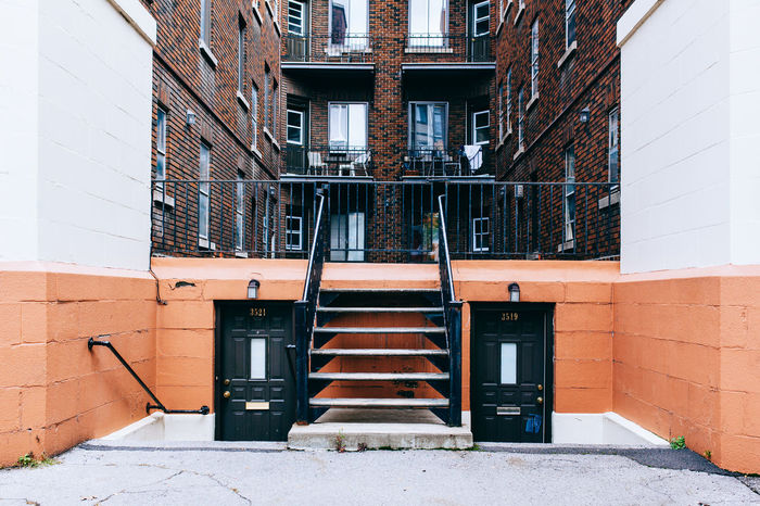 Montreal All Streets Architecture Building Exterior Built Structure Canada Montréal Quebec