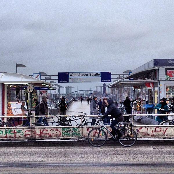 #Berlin #friedrichshain Train Station Warschauer Strasse Berlin Friedrichshain