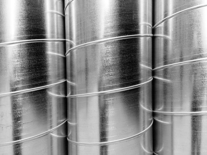 Metal No People Steel Silver Colored Industry Stainless Steel  Pipe - Tube Close-up Tube Technology Full Frame Indoors  Backgrounds Factory Cable Day Water Pipe Philly EyeEm Best Shots - Black + White Eye4photography  EyeEm Gallery Phillyphotographer Outdoors Philadelphia EyeEmBestPics