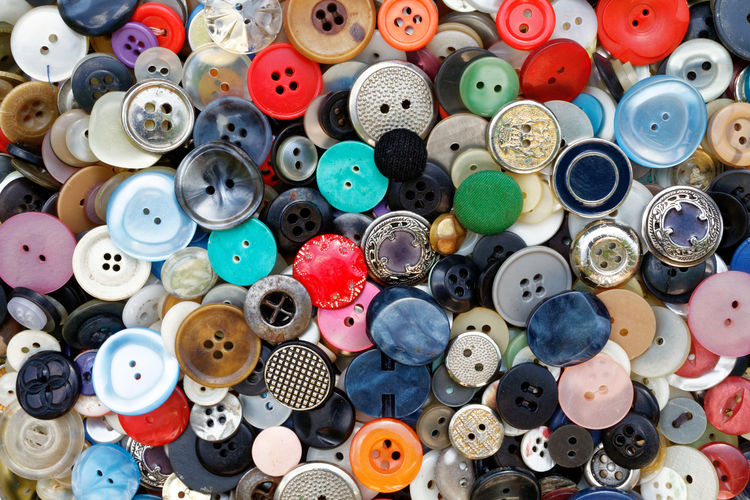 Buttons in color Button Circle Abundance Art And Craft Background Backgrounds Button Buttons Close-up Collection Design Indoors  Large Group Of Objects Many Multi Colored No People Texture Wallpapers Walpaper