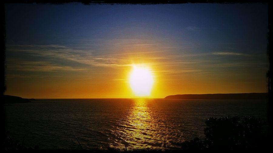 Enjoying The Sunset Sunshine Sunset_collection Driving Home Enjoying The Sun