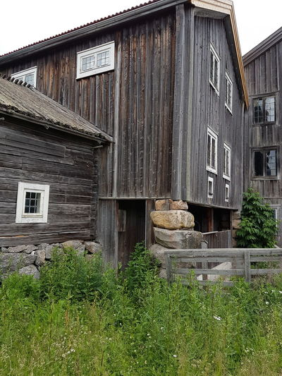Building Exterior Outdoors House Barn Old Barn Old Farmhouse Old Swedish Barn Grey Wooden Barn Silvery Wood ancient Ancient Barn