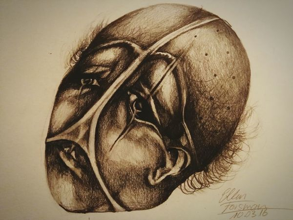 a combo of bizarre and forbidden fruit Horror Photography Drawingtime Drawing Drawings Faces Of The World Bizarre Surrealism Strange Hello World Taking Photos Artistic Cheese! Clown Drawingart Draw By Me Forbidden Clowns Sad & Lonely Lookingup Crying Emotional ArtWork Art And Craft Face Expression Check This Out