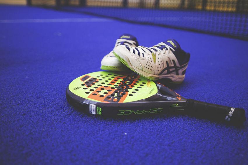 Padel Blue Indoors  Paddle Padel Racket Racket Racket Sport Shoes