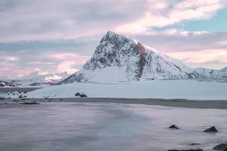 Lofoten Islands Nature Tranquil Scene Sky Sea Norway ✌