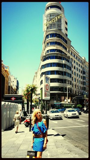 Madrid • Gran Via Sun Streetphoto_color