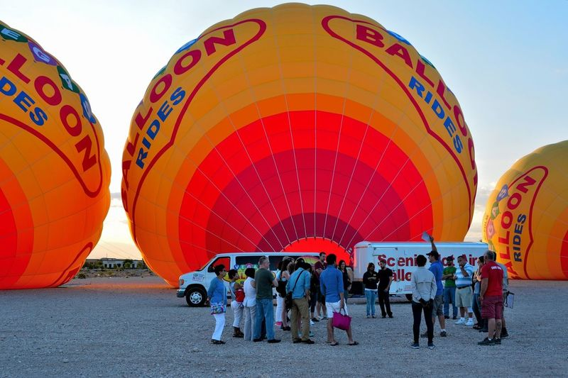 Las Vegas Balloons Morning Enjoying Life