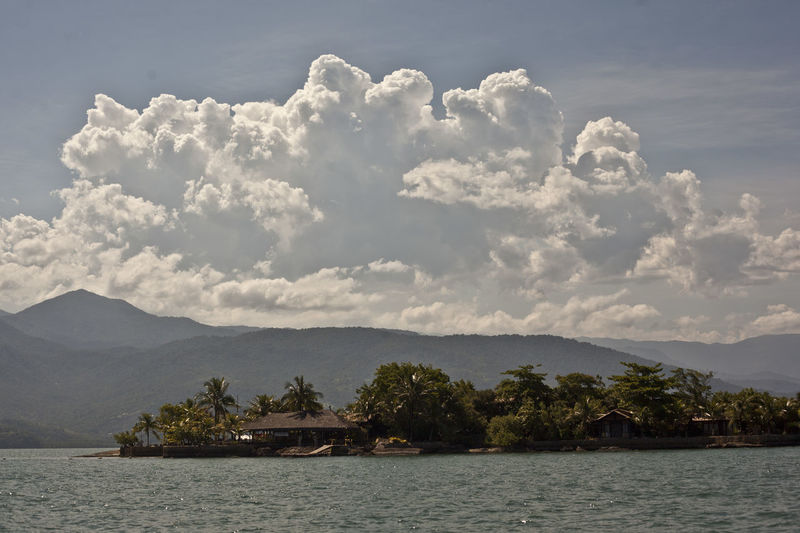 Water Sky Cloud - Sky Scenics - Nature Mountain No People Waterfront Beauty In Nature Tranquil Scene Tranquility Nature Day Nautical Vessel Architecture Tree Built Structure Lake Plant Transportation Outdoors