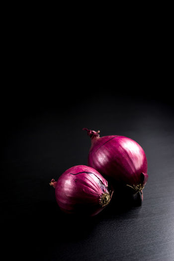 Red Black Background Close-up Food Food And Drink Freshness Healthy Eating Onion Red Onion Studio Shot Vegetable Food Stories